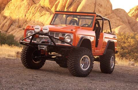 1972 Ford Bronco picture, exterior