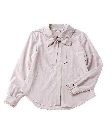 Victorian ornament embroidery blouse - Jane Marple Online Shop