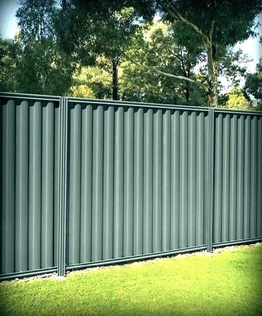 Image Result For Corrugated Metal Fences Oainted Green Corrugated Metal Fence Metal Fence Panels Good Neighbor Fence