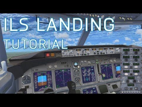 Fsx How To Land With Ils Autopilot Landing Boeing Youtube In 2020 Boeing Aviation Training Flight Simulator