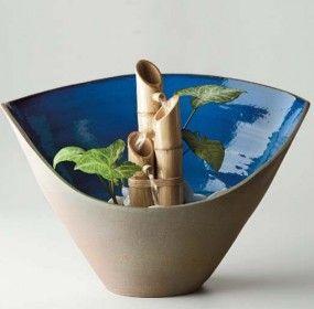 fonte de bambu