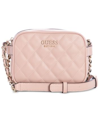 Guess Women's Rochelle Mini Quilted Convertible Crossbody