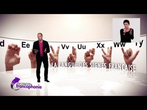 Émission du Samedi 29 Mars 2014.  Destination Langue des signes française dont la reconnaissance est encore aujourd'hui difficile en France et dans l'espace francophone.