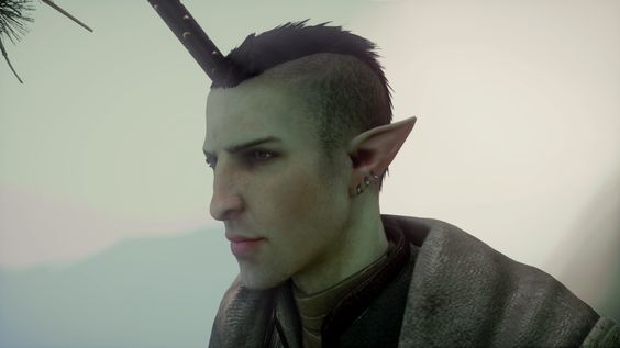 Solas With Hair That Changes Everything Http Daimodder Tumblr Com Post 145887509691 Nipuni Earrings Sin Dragon Age Dragon Age Inquisition Dragon Age 3