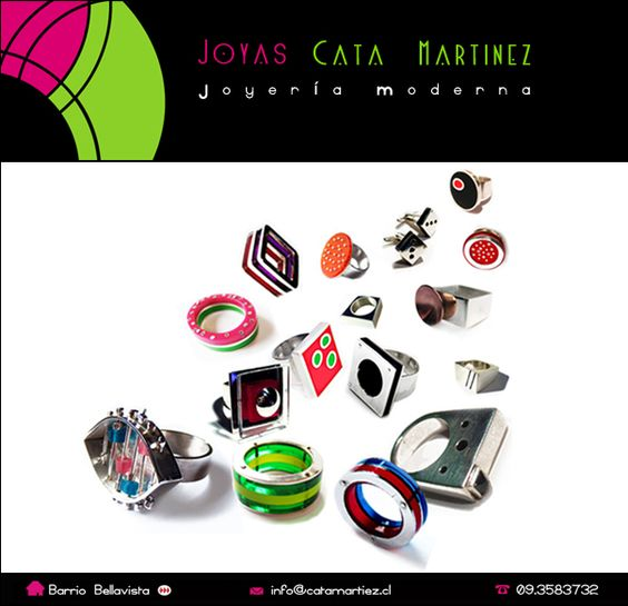 Clases de orfebrería.  Joyas Cata Martínez >> Joyería Moderna
