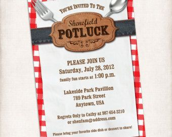 Potluck Sign Up Sheet Template For Baby Shower Bbq potluck sign up ...