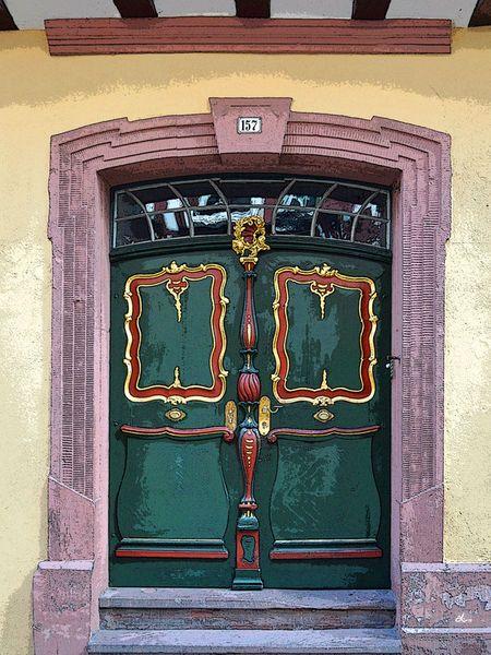'Das fränkische Portal' von Dirk h. Wendt bei artflakes.com als Poster oder Kunstdruck $18.03