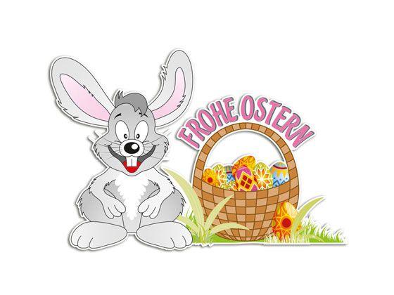 #Wandsticker Ostern Frohe #Ostern Hasen #Osterhase #Osterdeko
