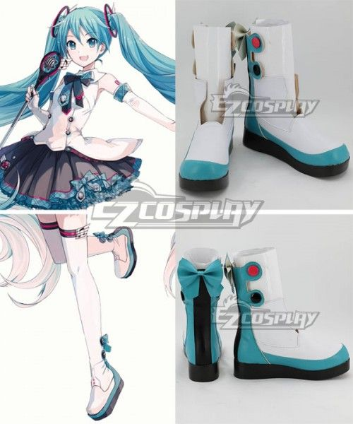 Vocaloid Miku Senbonzakura Halloween Long Cosplay Shoes Boots