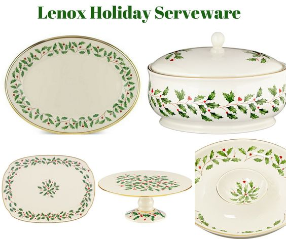 Lenox Holiday Serveware