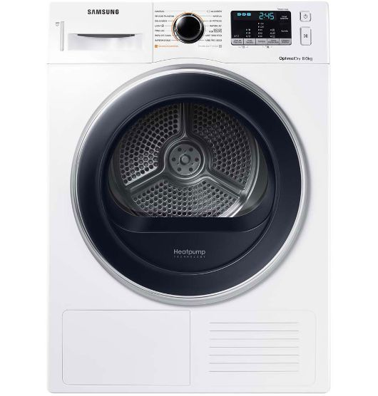 8kg Heat Pump Dryer In 2019 Samsung Heat Pump Tumble Dryers