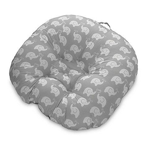 Boppy Elephant Love Newborn Lounger In Grey With Images
