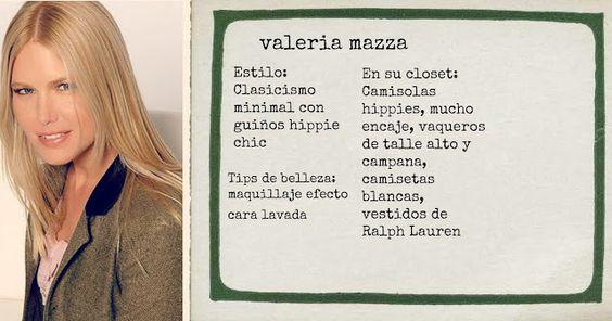 Valeria Mazza at El blog de Malules
