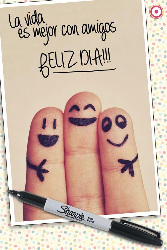 La vida es mejor con amigos...