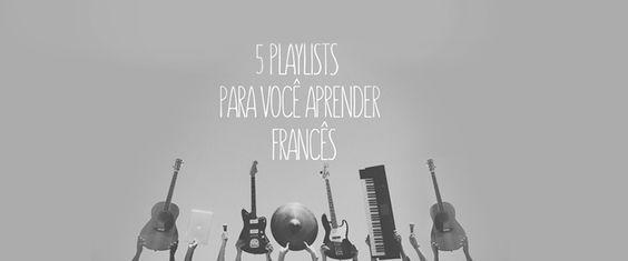 5 playlists on spotify to learn french - more than 500 FRENCH MUSIC!!!   Aprender uma língua é sempre um grande desafio. Porém existem algumas…