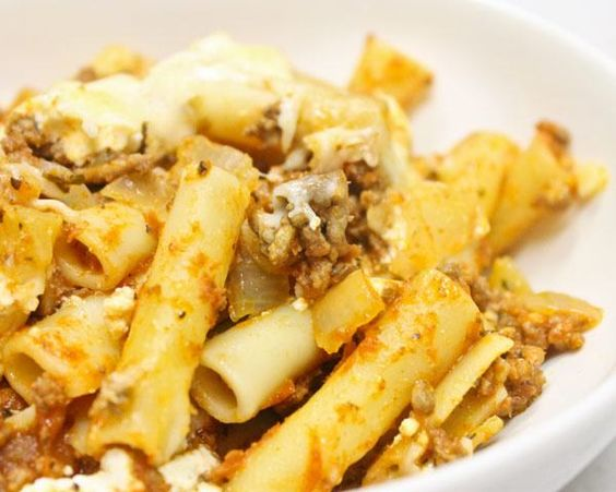 Baked Ziti with Ground Beef