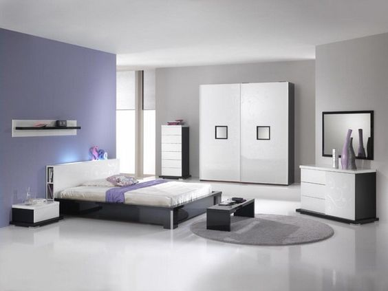 Contemporary Bedroom with Modern Sets bedroom Pinterest - schlafzimmer set modern