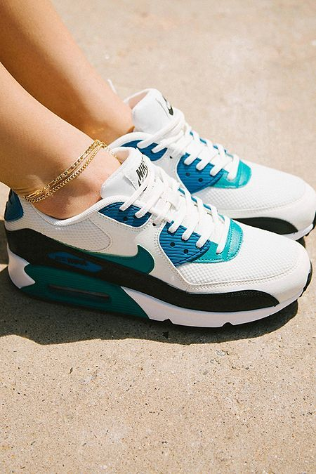 Outlet online Womens Nike Air Max 90 Leather (GS) Wolf Grey