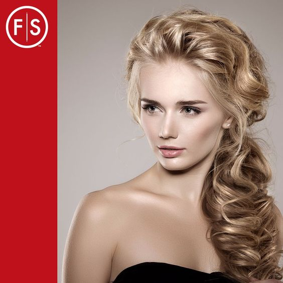 Side Braid Hairstyle for Valentine's #RomanticHair #ValentinesDayHair   https://www.fantasticsams.com/about/news/5-romantic-valentine%E2%80%99s-day-hairdo-ideas