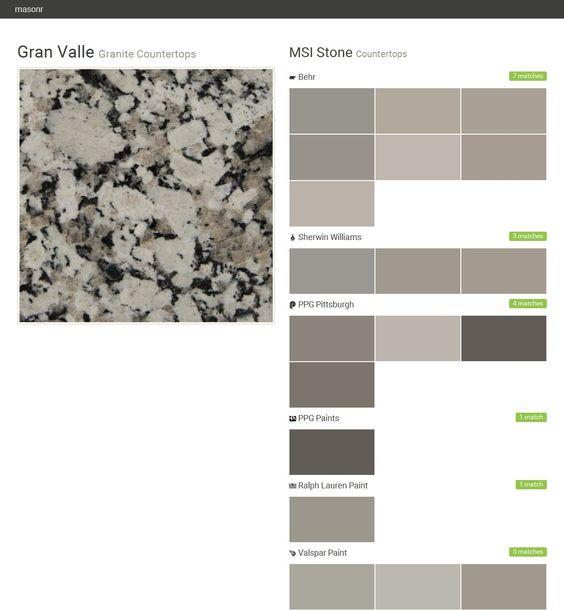 Amazing Granite Countertops. Countertops. MSI Stone. Behr. Sherwin Williams. PPG  Pittsburgh. PPG Paints. Ralph Lauren Paint. Valspar Paint. Clu2026 | Pinteresu2026