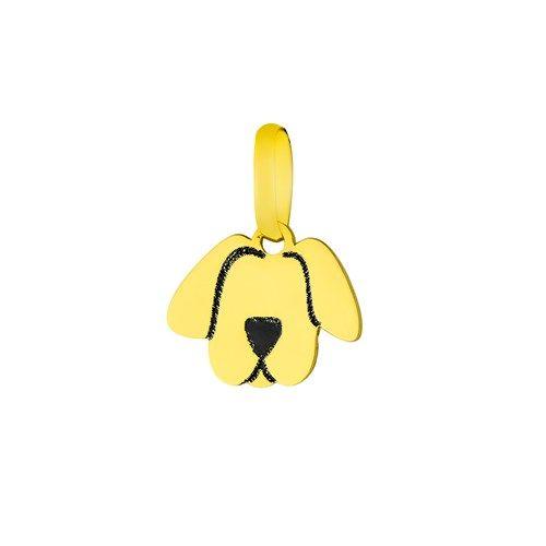 Pingente em Ouro 18k Cachorro pi17699 - joiasgold