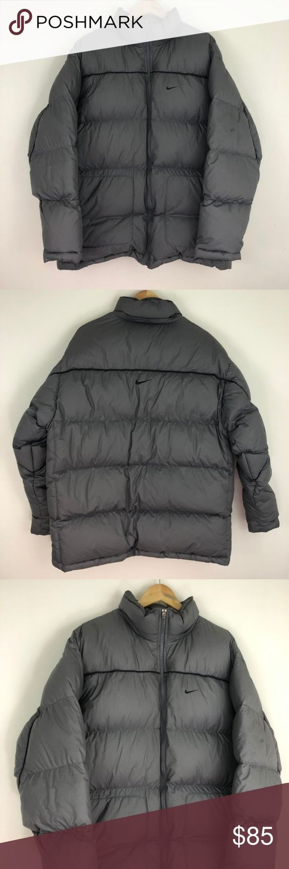 Vintage 90s Nike Puffer Jacket Great Condition Fire W Cargos Or Blue Jeans If You Re Looking For Vintage Heat Check My Pa Vintage Nike Jackets Puffer Jackets [ 1692 x 564 Pixel ]