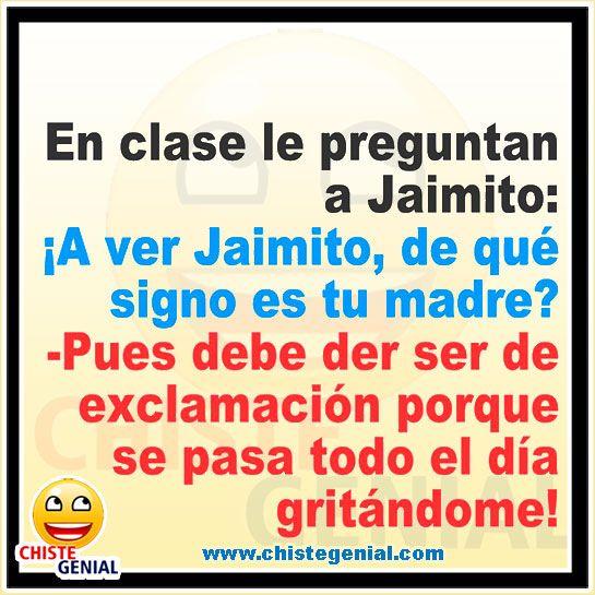 Pin On Chistes De Jaimito