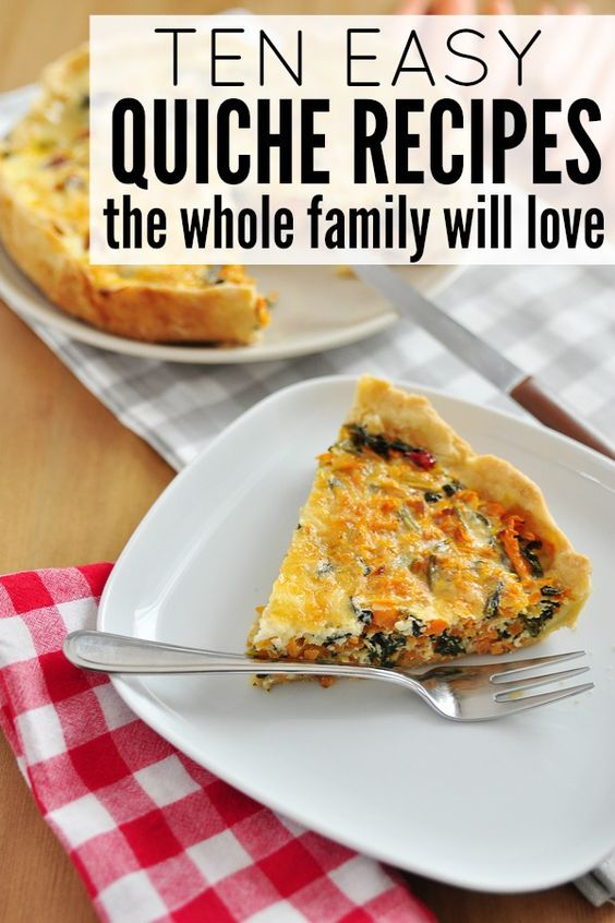 Protein quiche and search on pinterest Easy dinner recipes for family of 6
