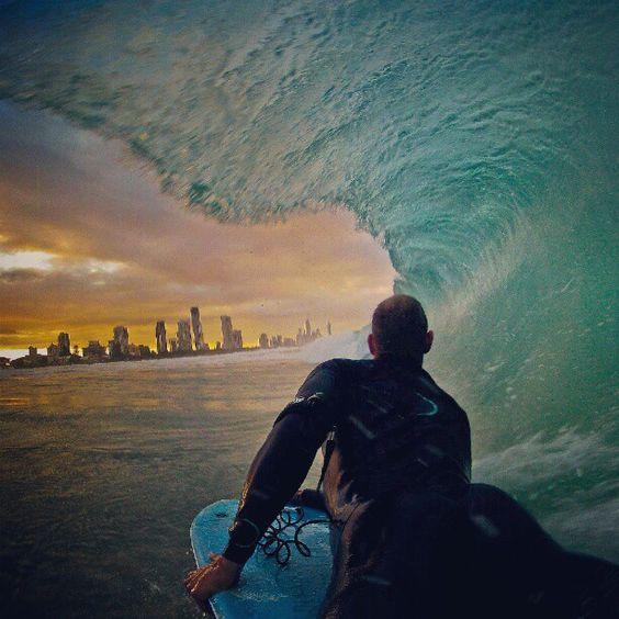 Grant Davis on the Gold Coast