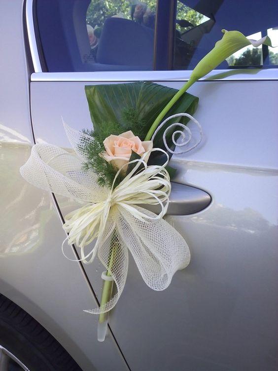 Decoraci n coche de novia elaborado por floristeria alameda en cartagena adorno carros pinterest - Decoracion coche novia ...