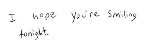 It would mean the world to me if you were <3