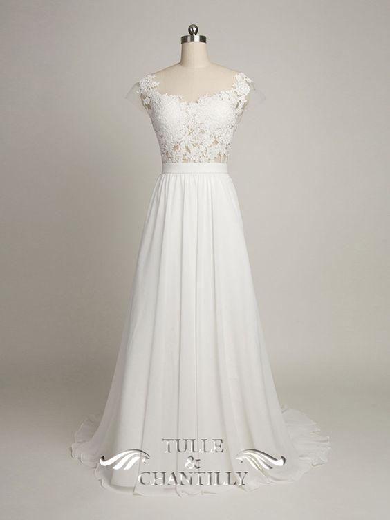 Design Your Own Wedding Dress} Gorgeous Customized Long Chiffon ...