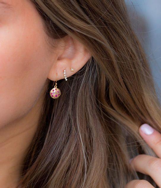Sterling Silver Earrings Handmade Jewelry Bridesmaid Gift Spike Earrings Mother Gift Birthday Gift