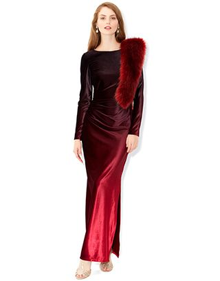 red maxi dress monsoon