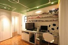 ceiling as a football field instead and shelves above desk | best stuff #brazil2014 #sport #worldcup #betting #tips #updates #SMS #cup #FIFA #football #soccer #league #derby JOIN THE WORLD CUP WITH http://prowintips.com