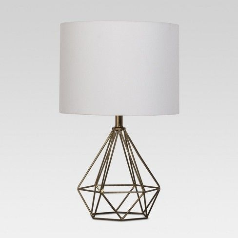 Stylishly Light Up Your Space With This Entenza Geometric Table Lamp From Project 62 153 The Faceted Geometric Base Add Geometric Table Lamp Lamp Table Lamp
