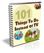 We have not had tv in our home for almost 10 years.  These ideas will be great.