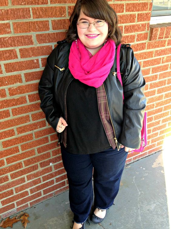 Unique Geek: Plus Size OOTD: Pink, Please: