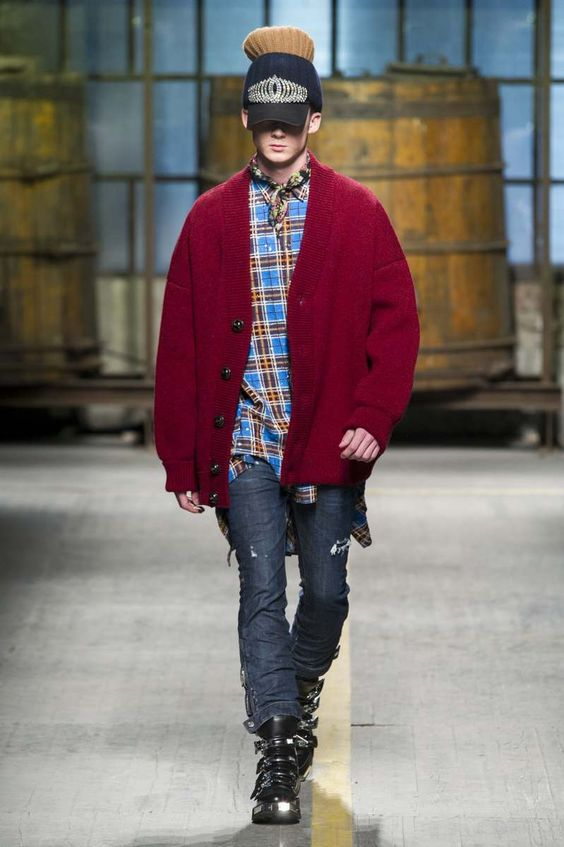 Male Fashion Trends: Dsquared2 Fall-Winter 2017 - Milan Fashion Week