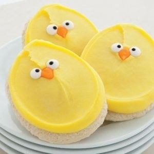 chick cookies by carmella Repinned By:#TheCookieCutterCompany