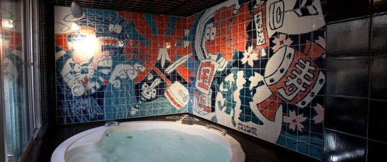 Furo Information   Tokyo's first designer hotel   Andon Ryokan for public baths in Ueno and Asakusa