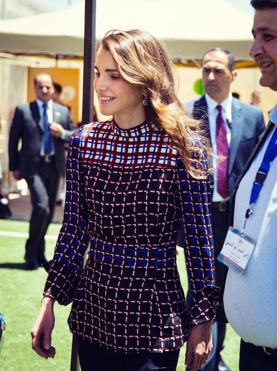 Queen Rania, June 12, 2016
