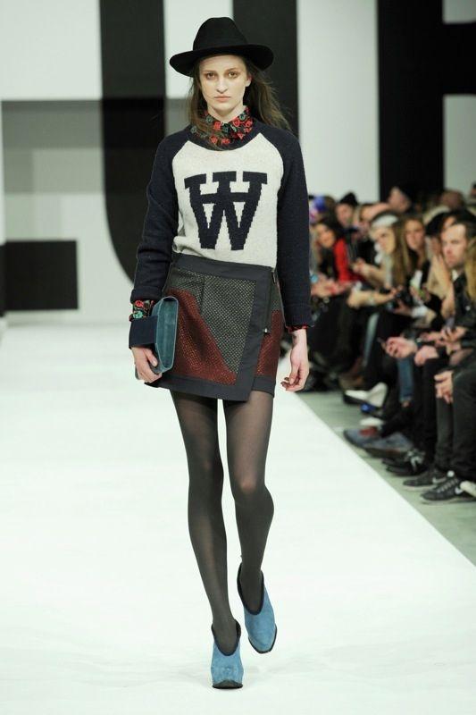 Copenhagen Fashion Week: Rorschach-Prints, Rosenmuster und noch mehr Nadelstreifen bei Wood Wood A/W 13/14