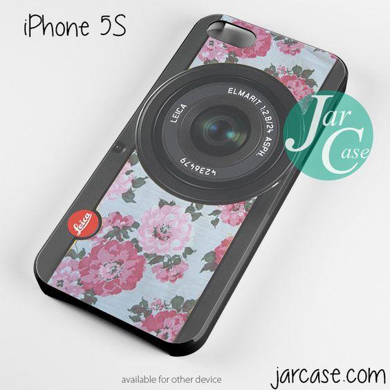 original floral leica camera Phone case for iPhone 4/4s/5/5c/5s/6/6 plus