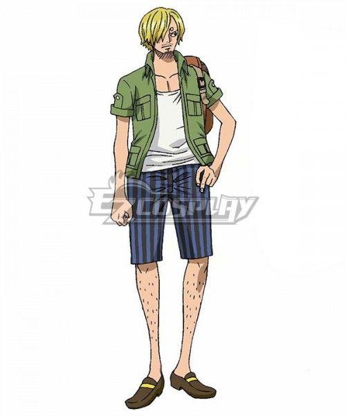 One Piece Stampede 2019 Movie Sanji Vinsmoke Cosplay Costume Sponsored Movie Piece Stampede