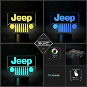 Colored Lighting Jeep Grille Decor Jeep Lamp