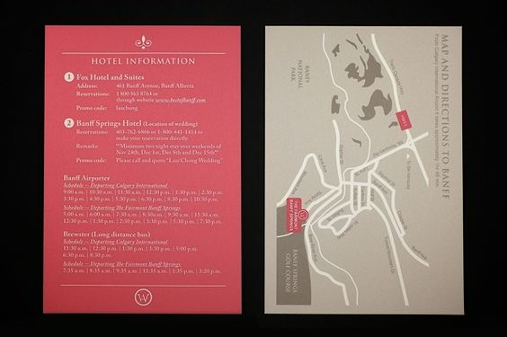 Pop-up Wedding Invitation Card by Man Cheng, via Behance