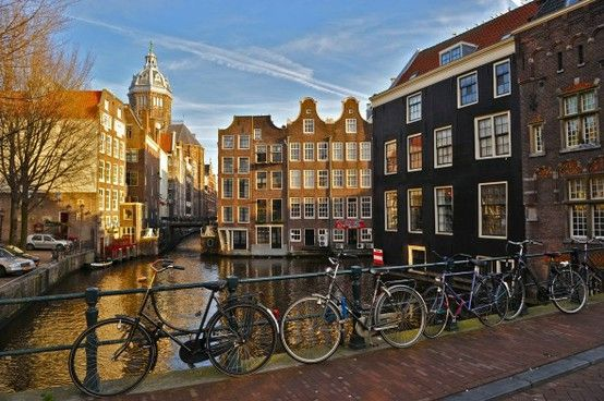 Amsterdam    One of our 100 places to visit before you die.    http://www.100placestovisit.com/amsterdam-nertherlands-holland-europe/    #Amsterdam #100places2visit #bucketlist #seebeforeyoudie