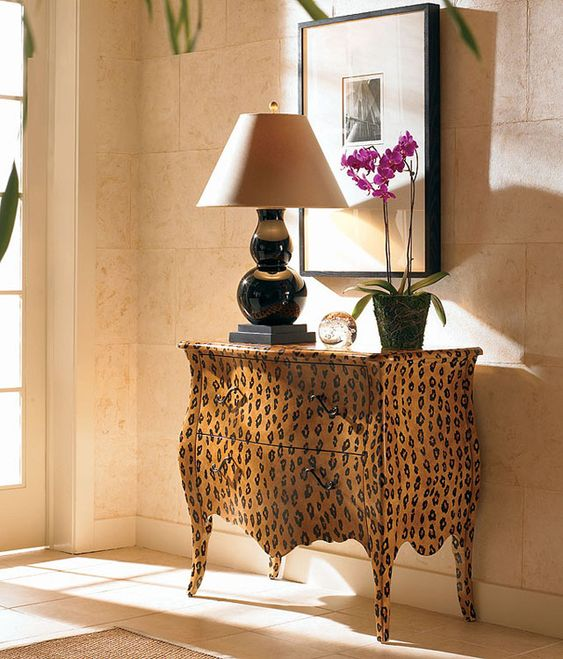 #animalinstincts http://paintedfurnitureonline.com/wp-content/uploads/2010/02/Animal-Print-Essentials1.jpg