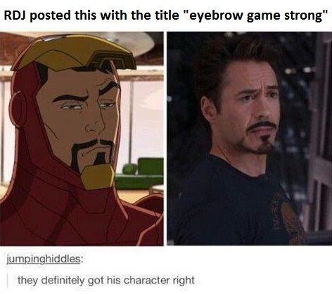 Tony  Stark Meme